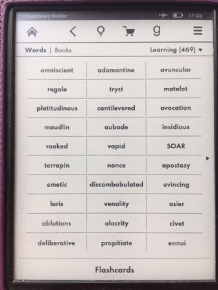 Kindle-flashcards